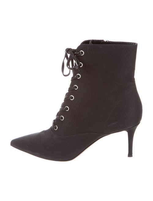 Gianvito Rossi Lace-Up Boots Black