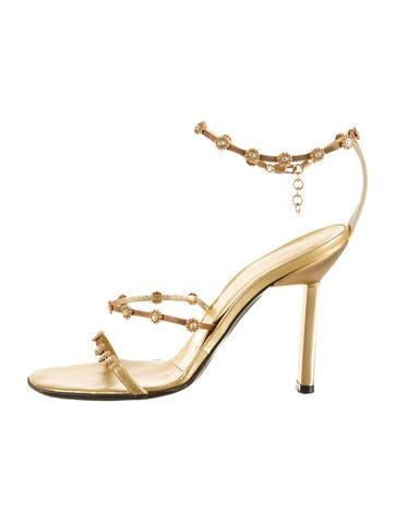 Metallic Sandals