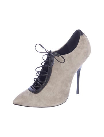 Suede Booties w/ Tags