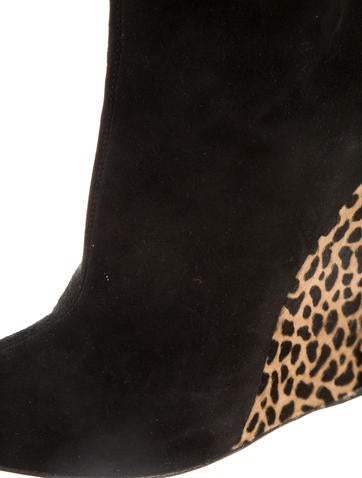 Wedge Boots w/Tags