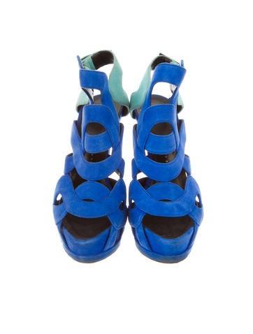 Bi-Color Sandals