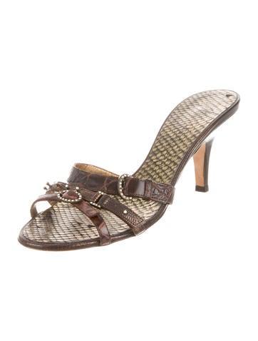 Crocodile Slide Sandals