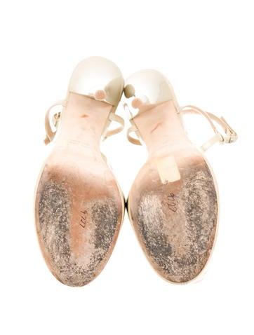 Platform T-Strap Sandals