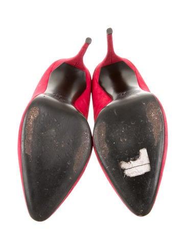 Suede Stiletto Booties