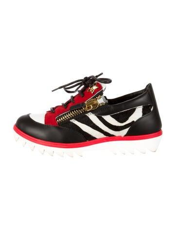 b33094100cd49 Giuseppe Zanotti Snake Sneakers Nyc White Designer Shoes For Women ...