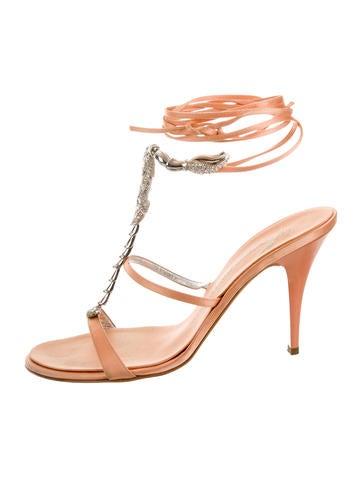 Scorpio Satin Sandals