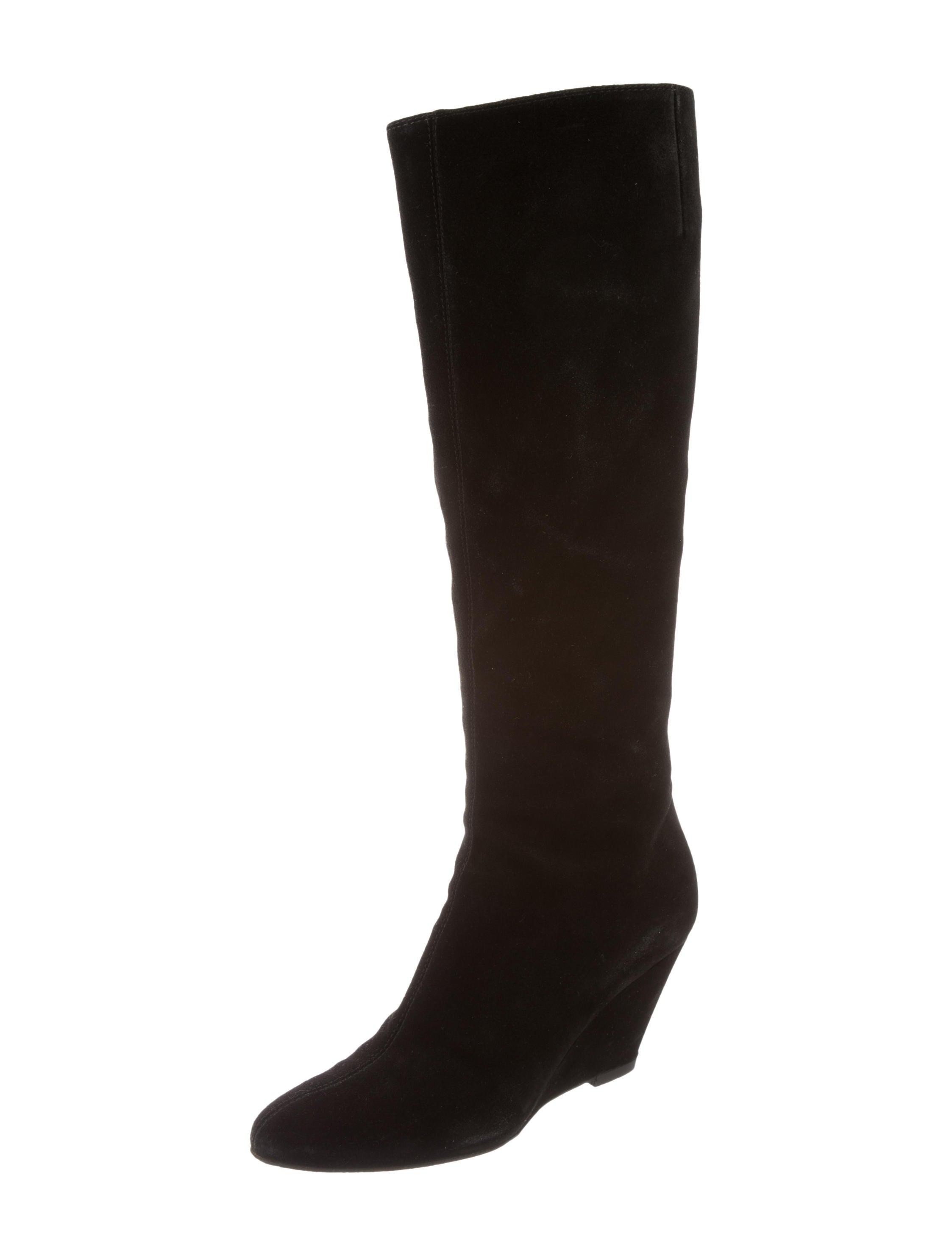 giuseppe zanotti suede knee high boots shoes giu30749
