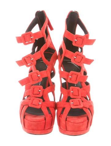 Platform Cage Sandals