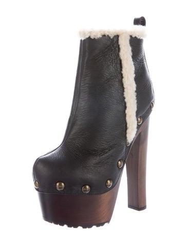 Tropez Platform Ankle Boots w/ Tags