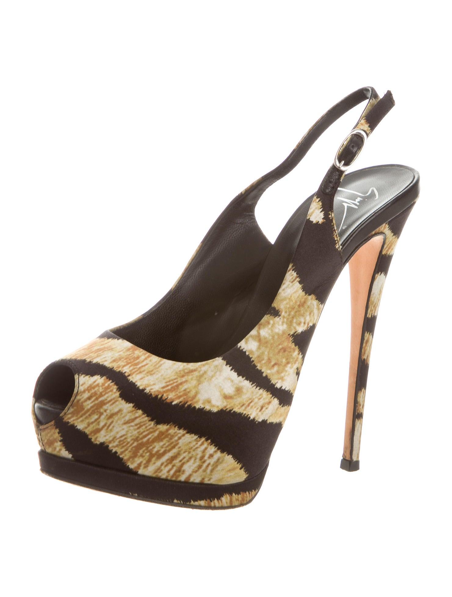 giuseppe zanotti peep toe platform sandals shoes