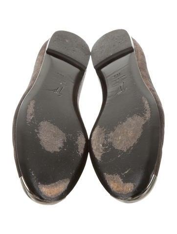Metallic Cap-Toe Flats