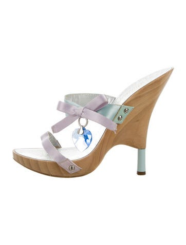 Satin Embellished Heels