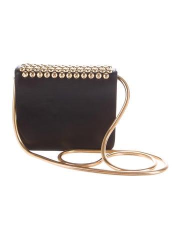 Studded Leather Mini Bag