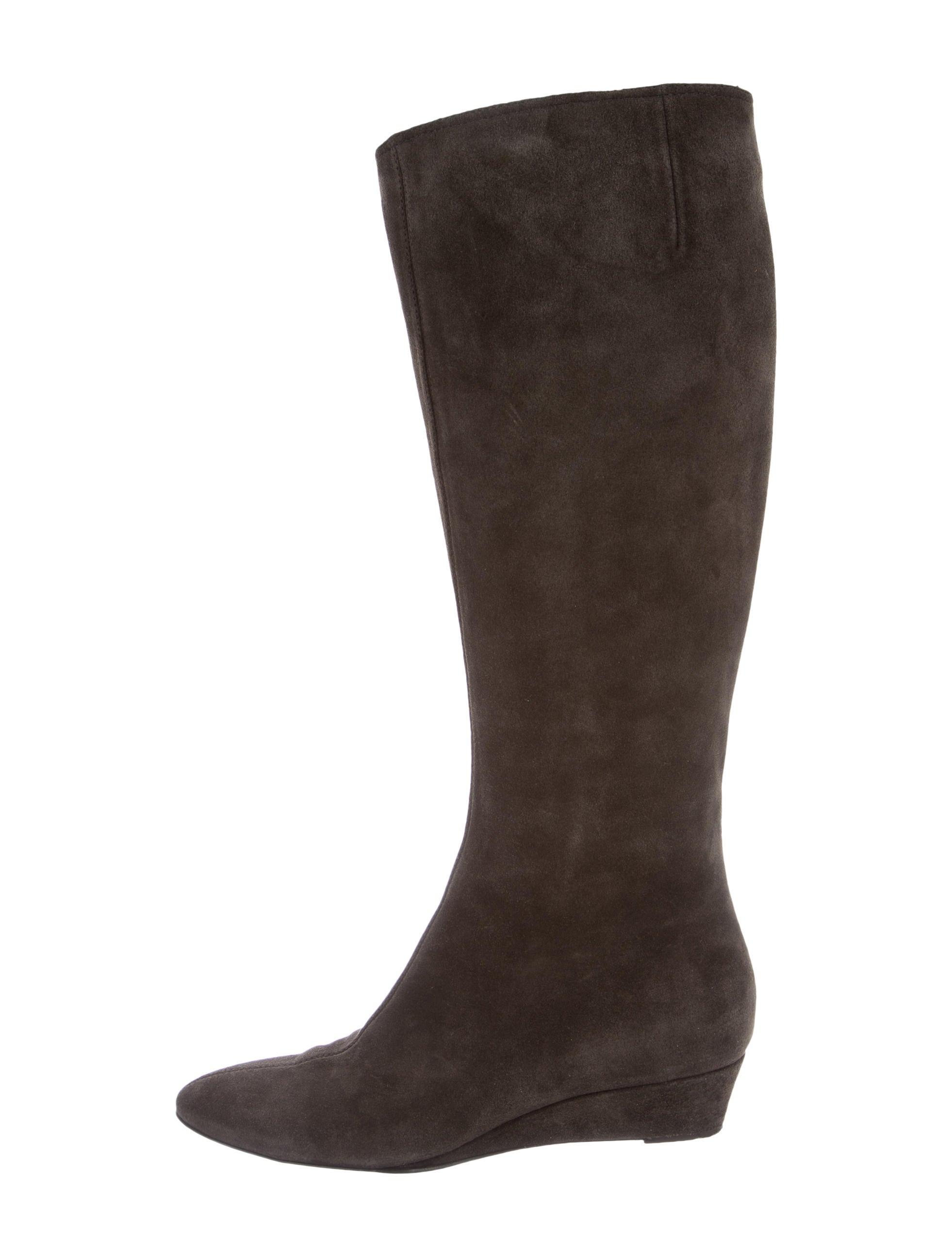 giuseppe zanotti suede knee high boots shoes giu35663