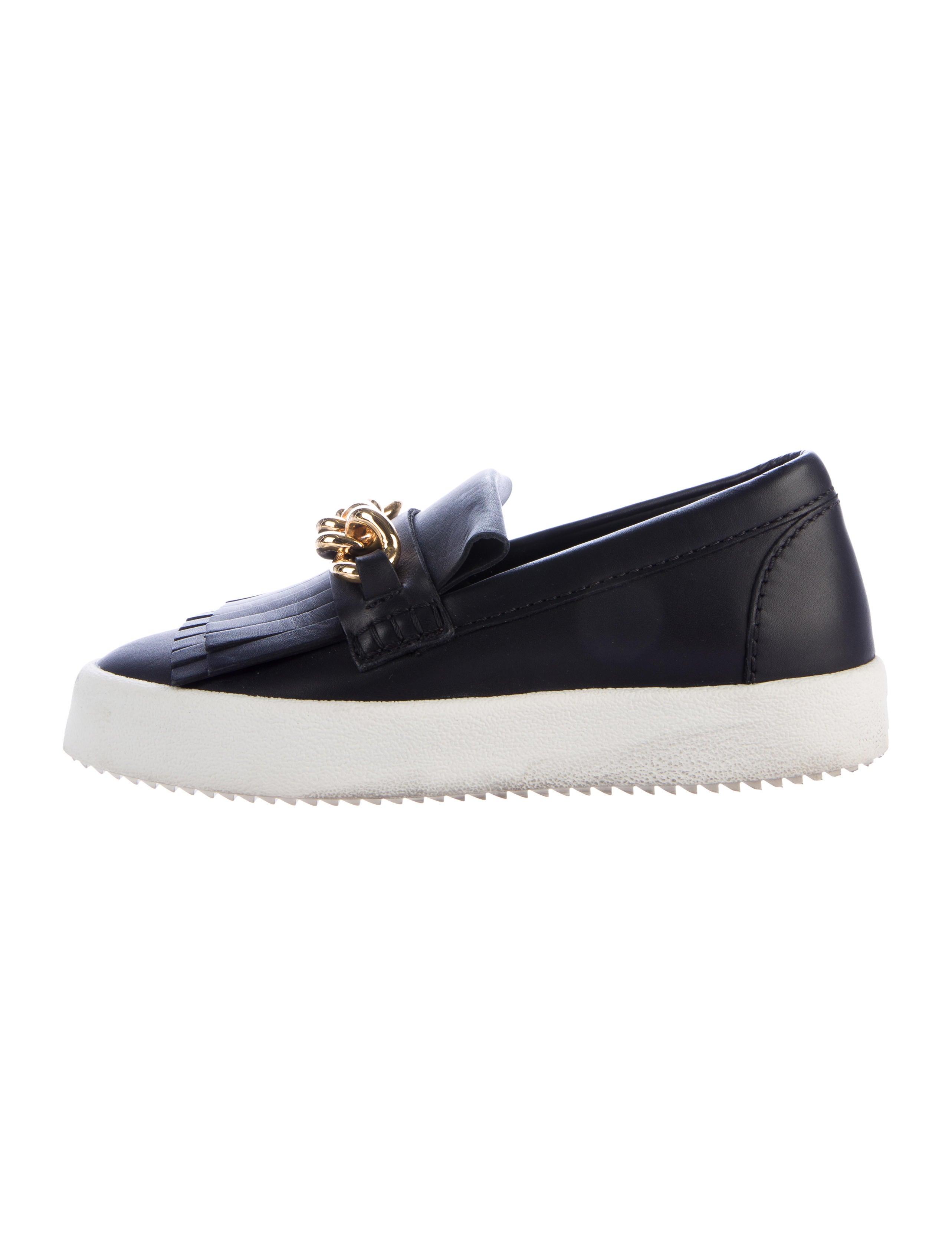 Giuseppe Zanotti Kiltie Slip-On Sneakers free shipping best place EW32hDSzR