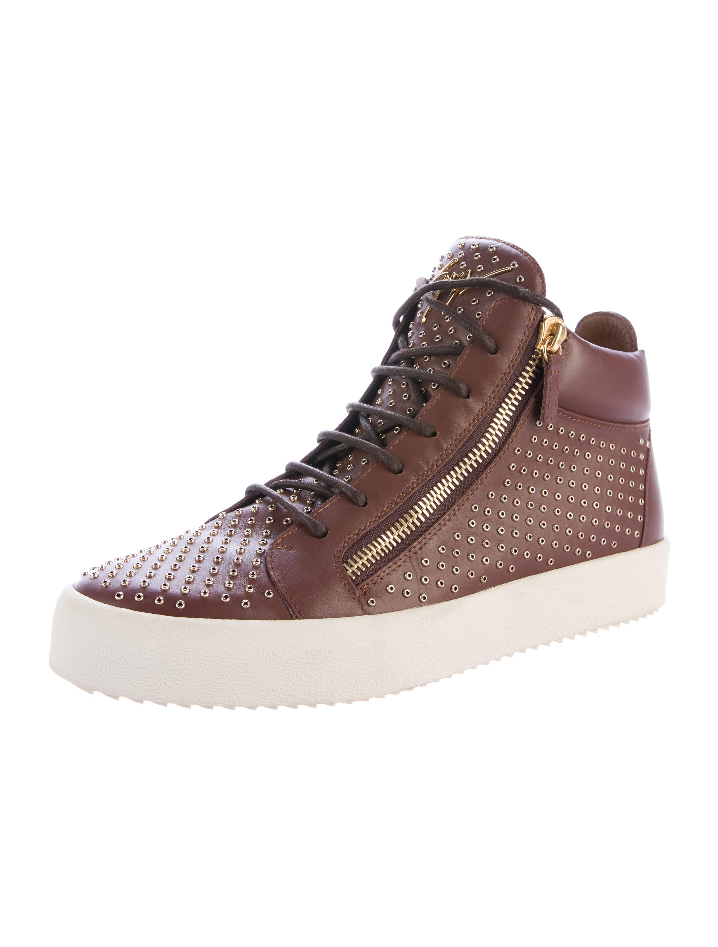 Men Shoes With Gold Hardware