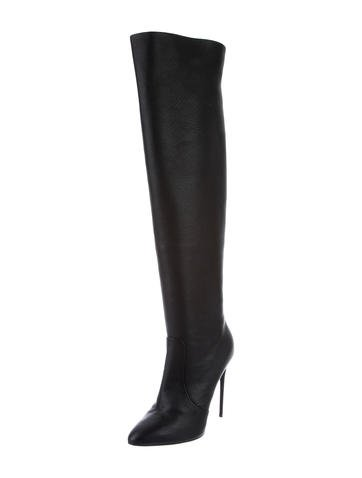 giuseppe zanotti clinda thigh high boots w tags shoes