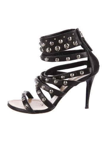 outlet cheap quality Derek Lam 10 Crosby Tilden Ponyhair Sandals 2014 newest genuine for sale o8Pf3N