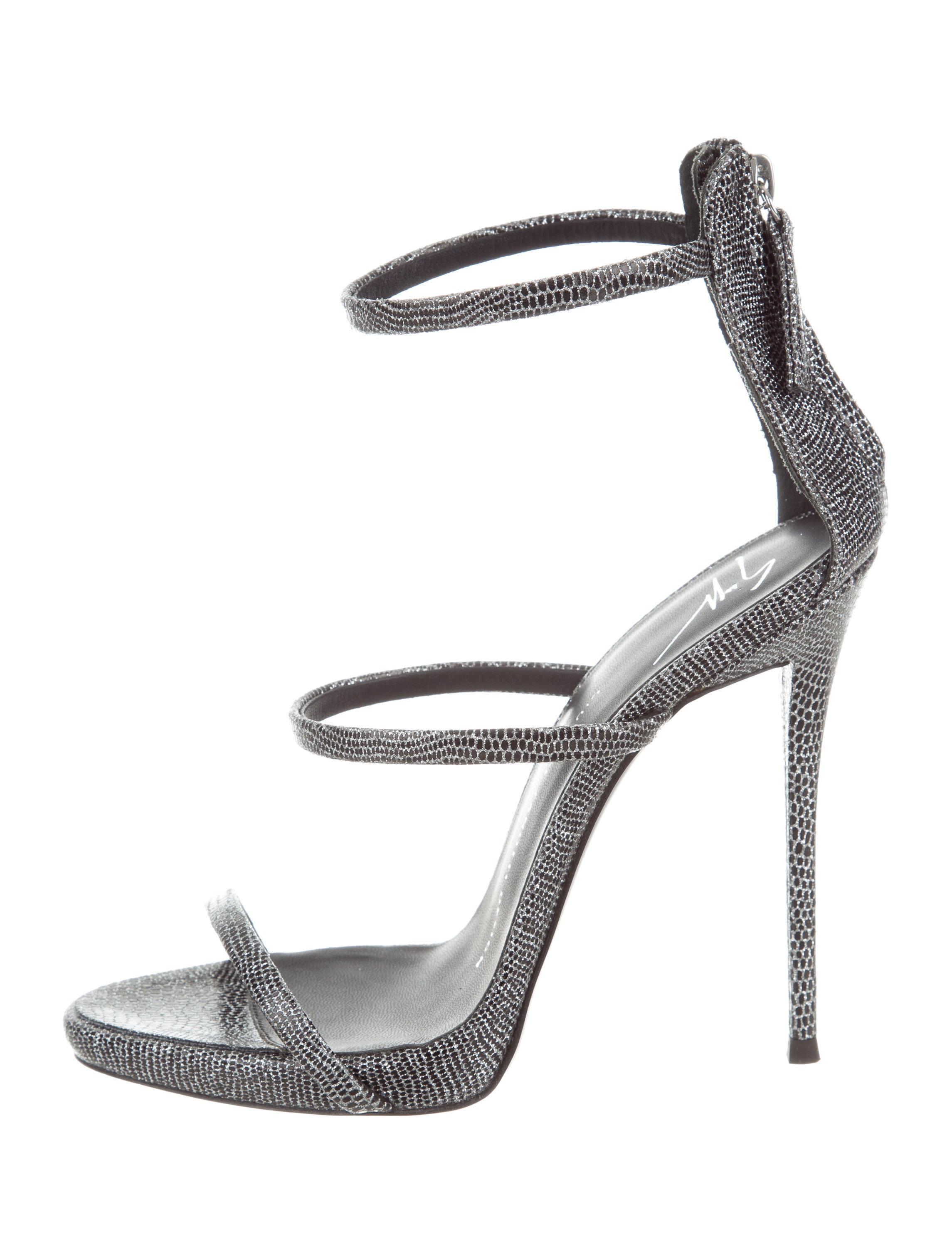 Giuseppe Zanotti Coline 110 Sandals w/ Tags free shipping good selling 2014 cheap online websites cheap online clearance clearance hAsH6Nu