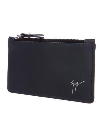 leather zip cardholder - Zip Card Holder