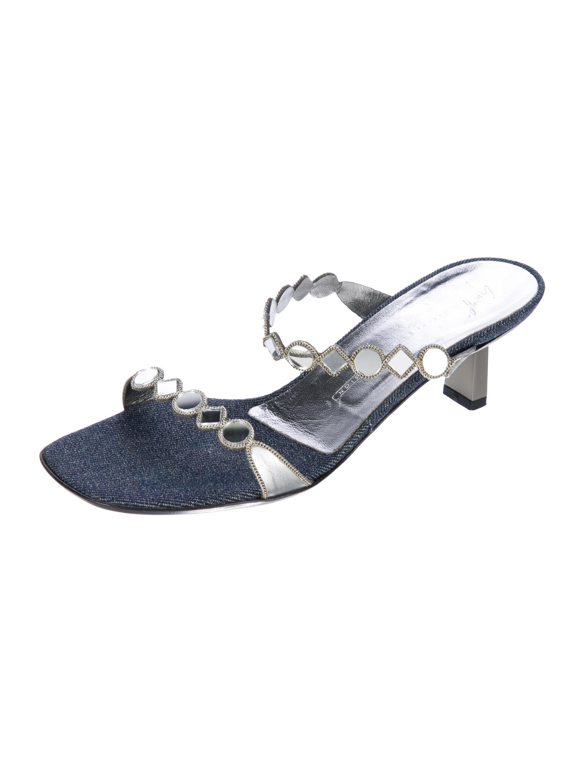 Giuseppe Zanotti Lola 45 Slide Sandals clearance ebay vR8X771fLb