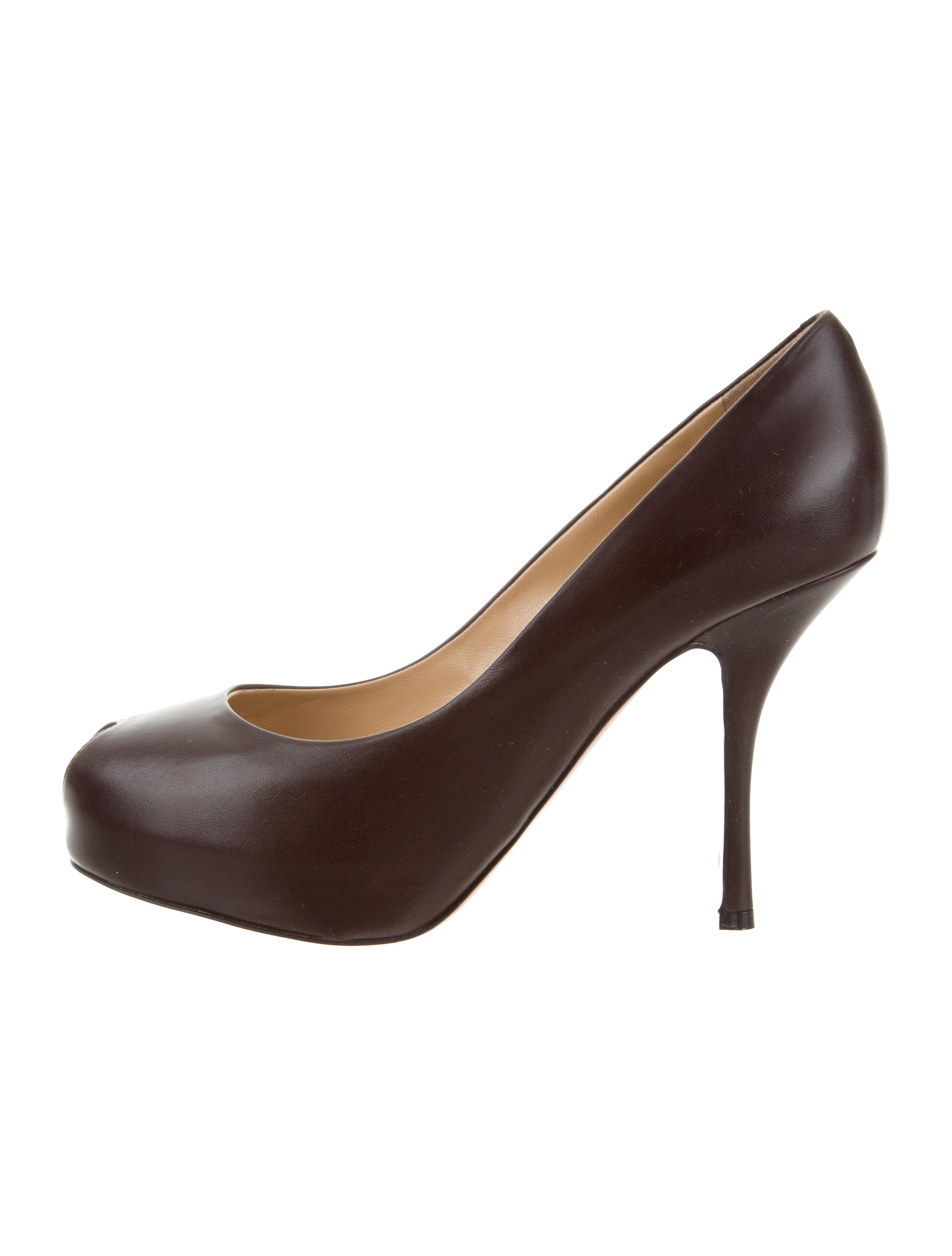 purchase sale online buy cheap excellent Giuseppe Zanotti Leather Platform Pumps w/ Tags discount latest lowest price cheap price EQnXteQ