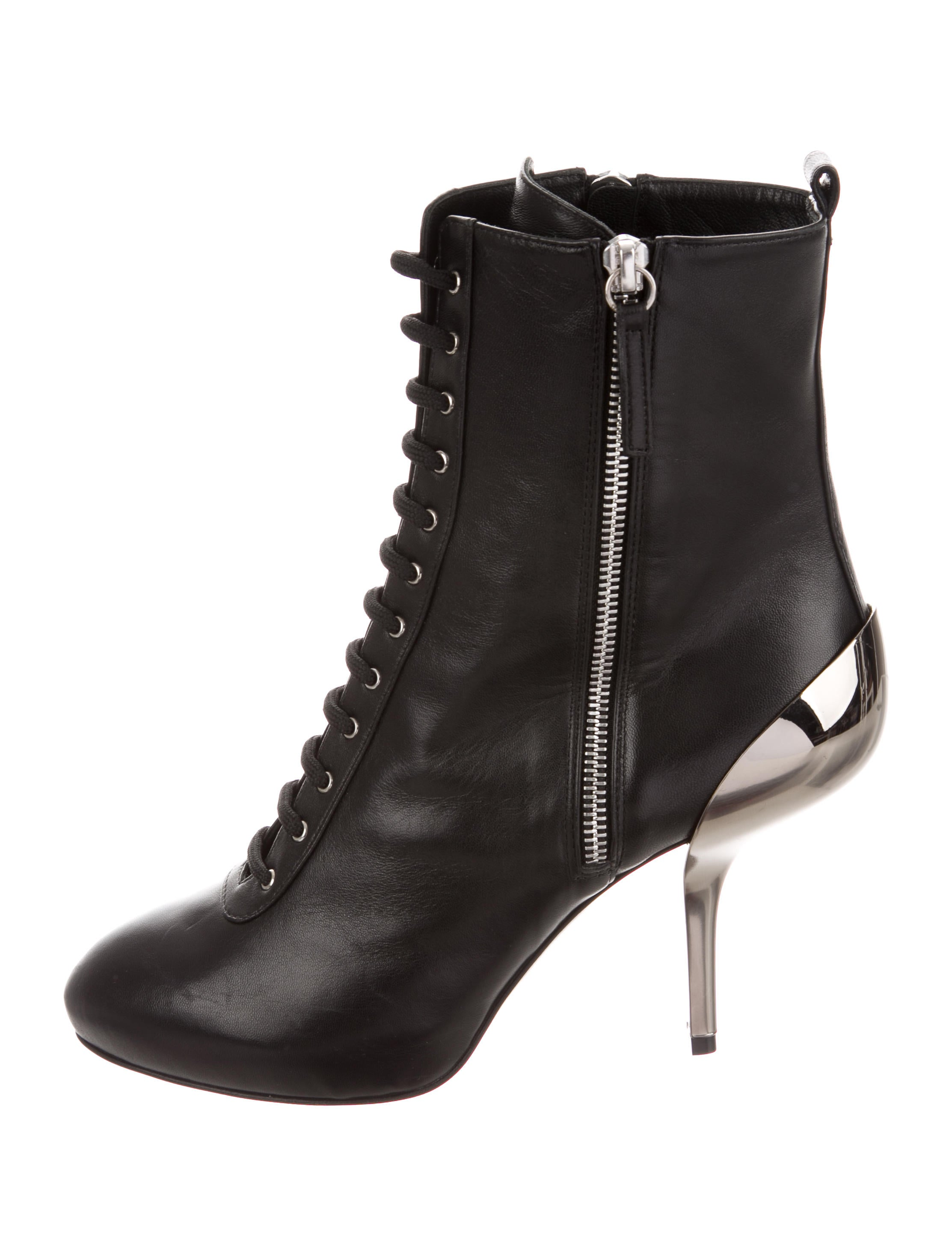 Giuseppe Zanotti Leather Ankle Boots w/ Tags discount with mastercard ey5QPPE8