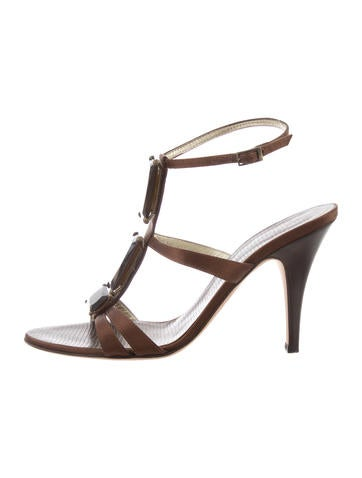 clearance find great for cheap sale online Bally Patent Leather Multistrap Sandals cheap under $60 shop offer for sale T1Aktd0f7