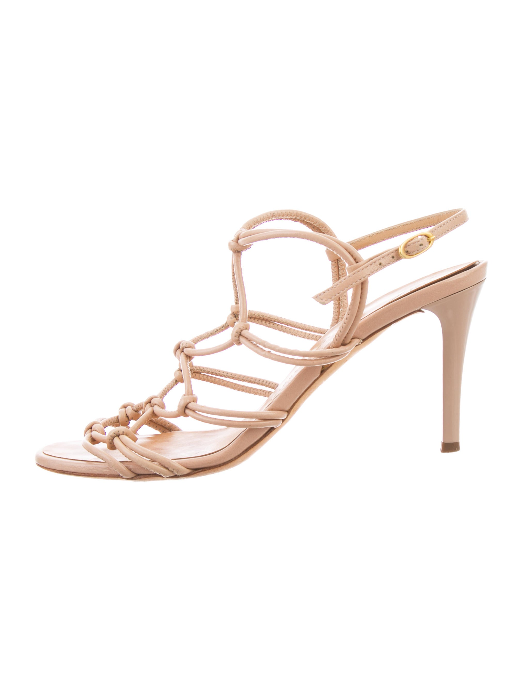 really cheap Giuseppe Zanotti Multistrap Knot Sandals discount footaction LXqRV