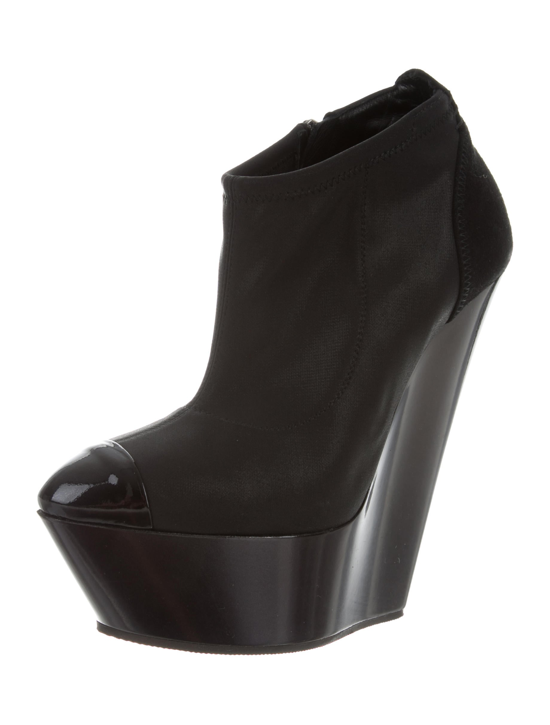 Giuseppe Zanotti Cap-Toe Platform Booties cheap excellent discount outlet where can i order aWiRiQP