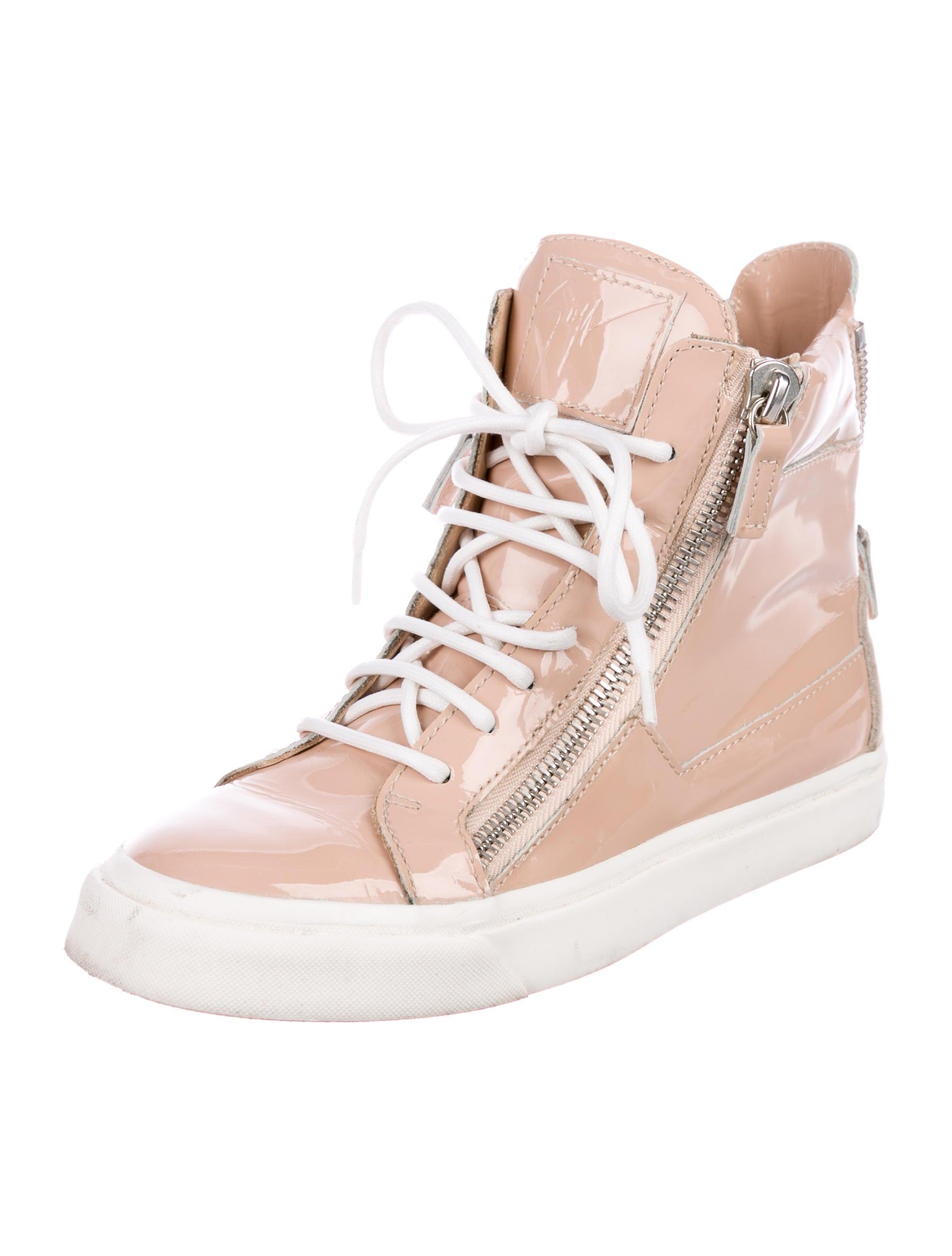 Giuseppe Zanotti August London Patent Sneakers really cheap online cheap visa payment cheap best sale 8BPjpN
