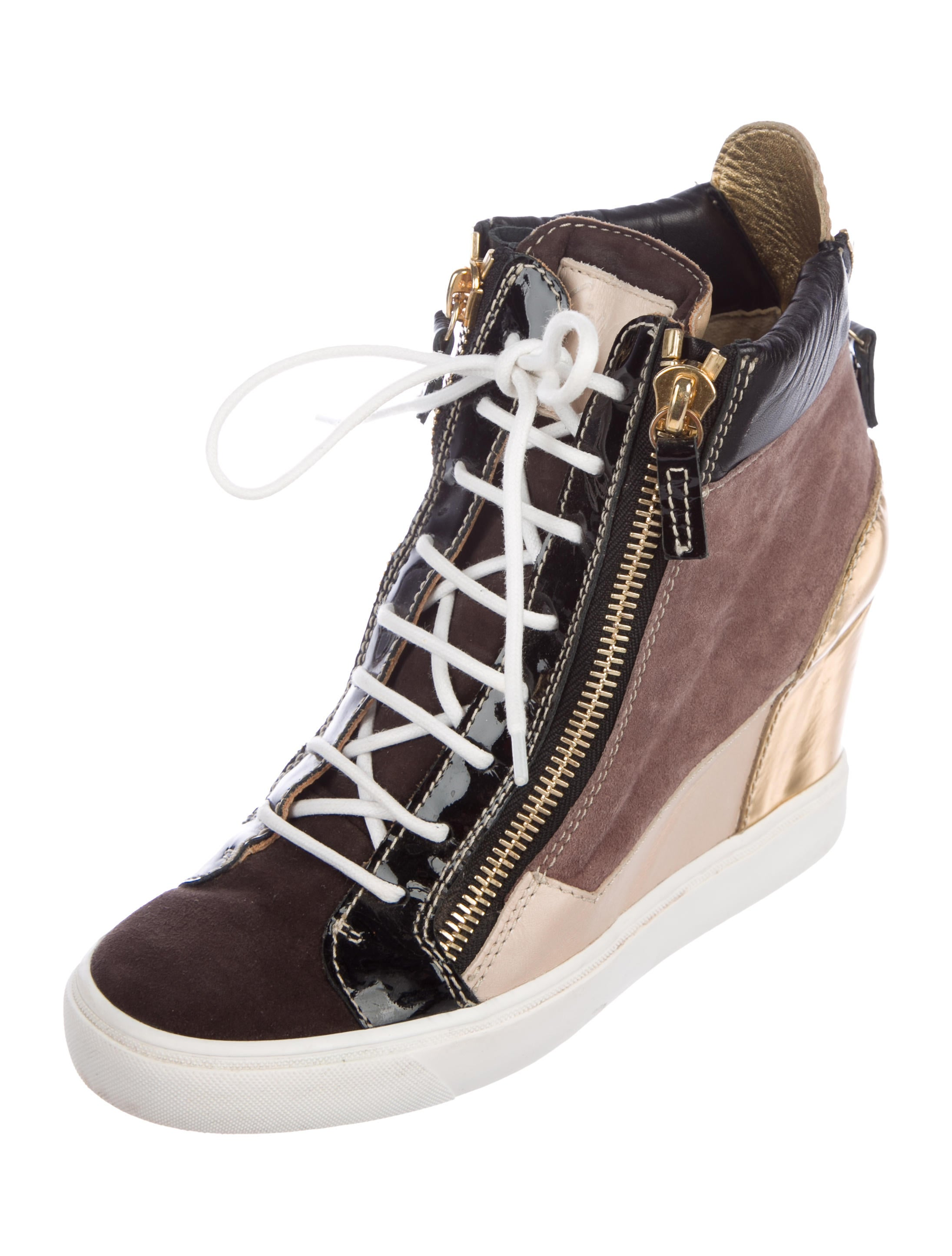 Giuseppe Zanotti Lorenz 75 Patchwork Sneakers buy cheap online websites sale online cheap best store to get D03oW