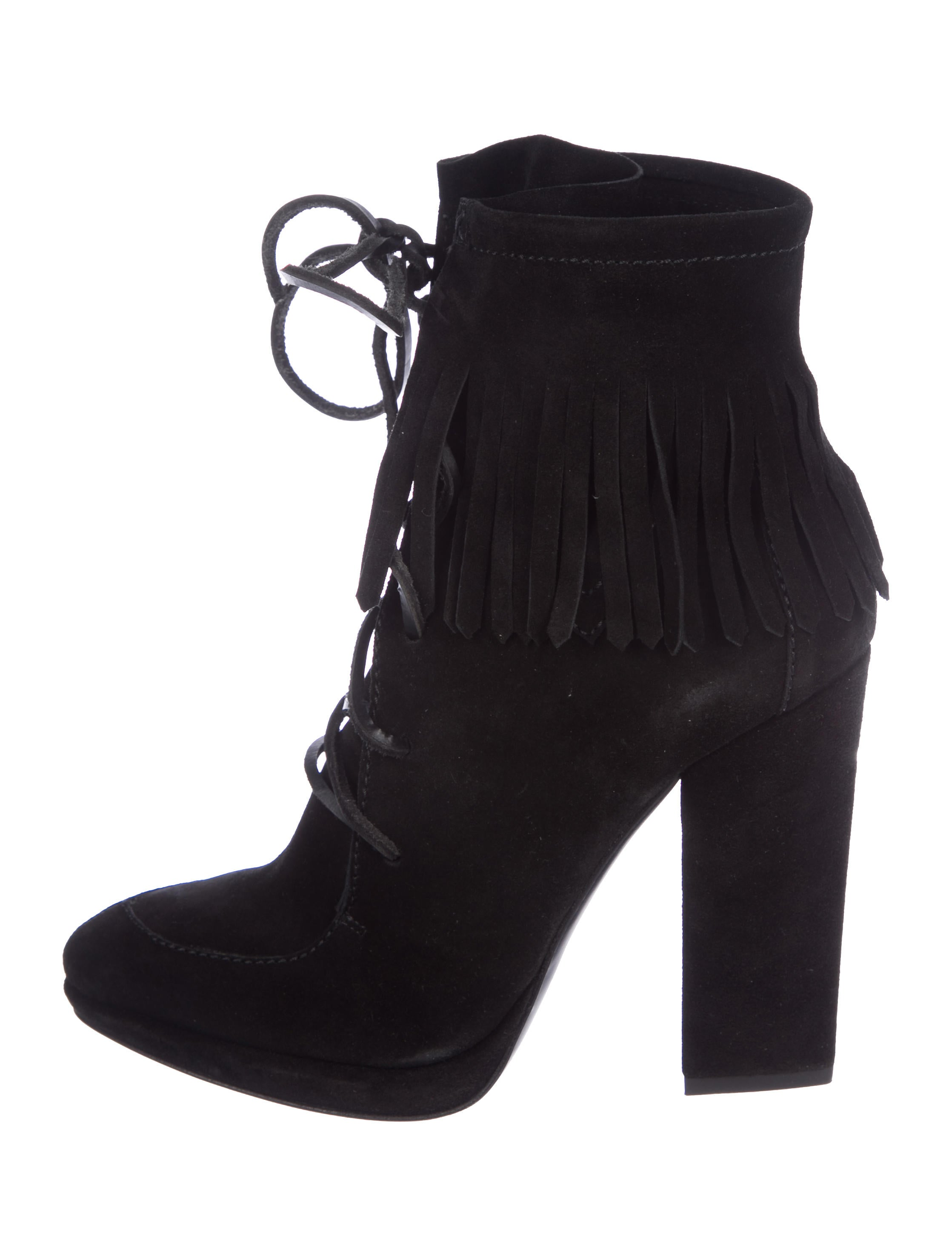 Giuseppe Zanotti Uma 110 Fringe Ankle Boots amazon sale online cheap sale best sale online cheap outlet authentic 2014 newest online yjeYvAyo