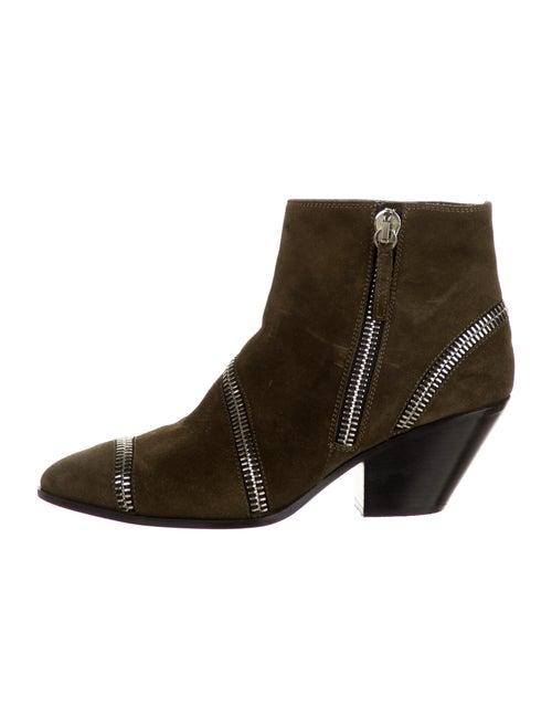 Giuseppe Zanotti Suede Boots Green