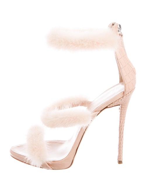 Giuseppe Zanotti Leather Sandals Pink - image 1