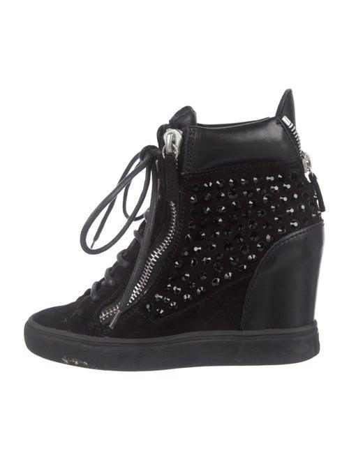 Giuseppe Zanotti wedge Wedge Sneakers Black
