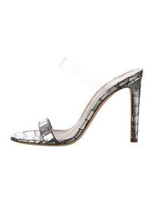 Giuseppe Zanotti Leather Slides