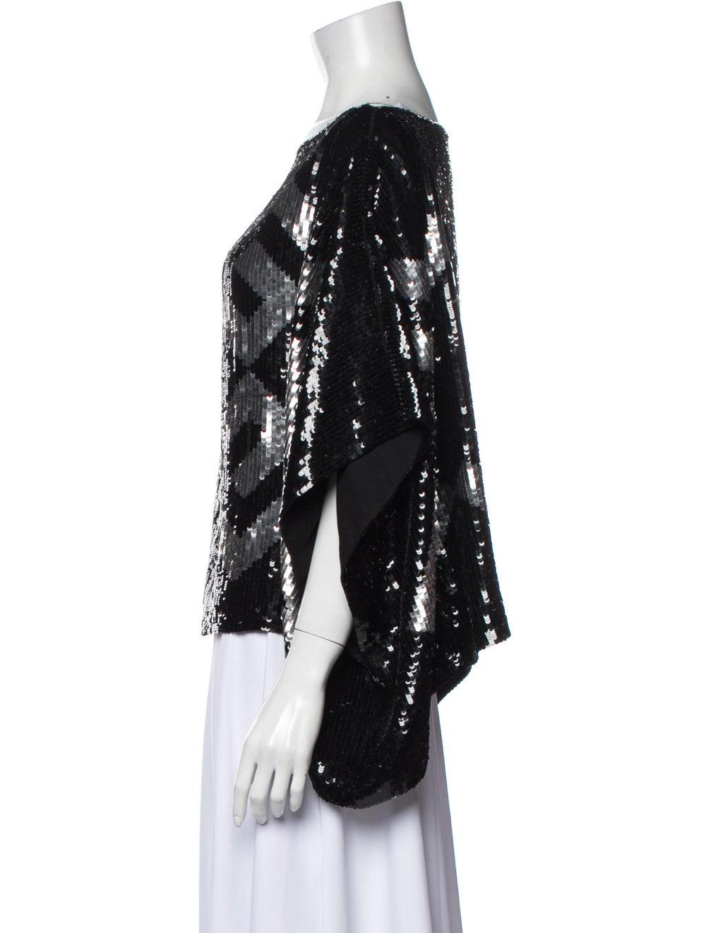 Givenchy Silk Printed Blouse Black - image 2