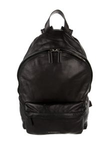 Givenchy Leather Zip Backpack