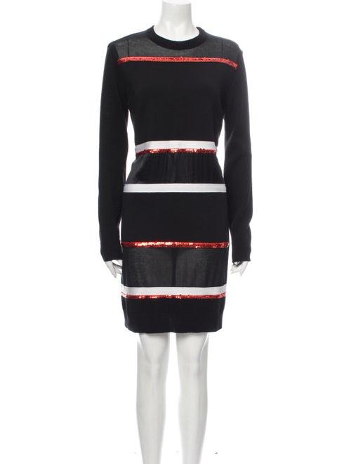 Givenchy Wool Mini Dress Wool