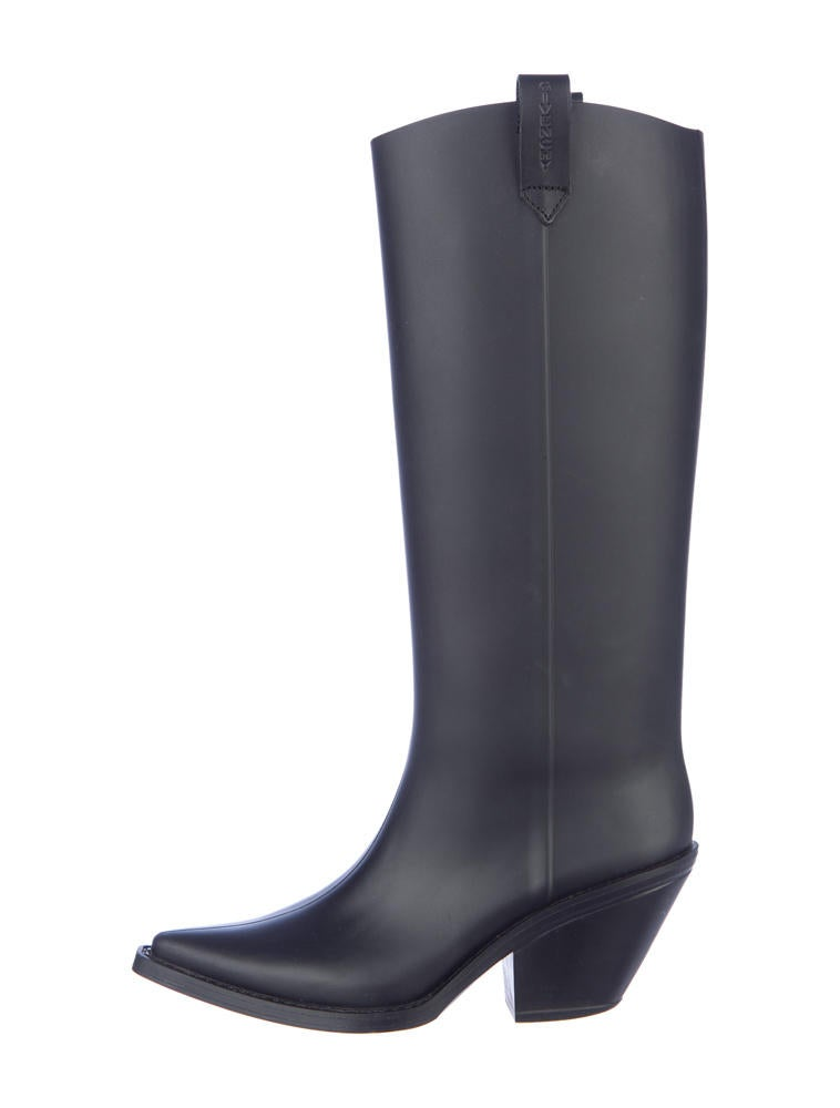 Givenchy Rubber Cowboy Boots - Shoes - GIV10627 | The RealReal