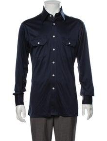 Givenchy Vintage Long Sleeve Dress Shirt