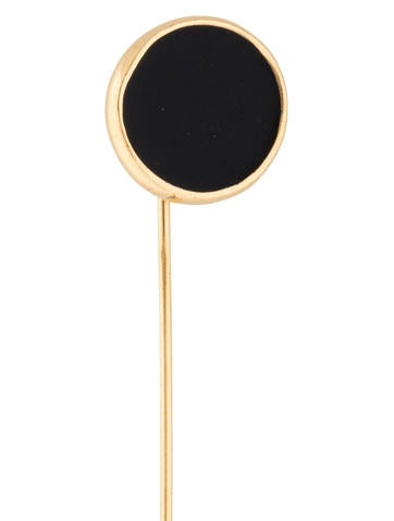 Black Enamel Stick Pin