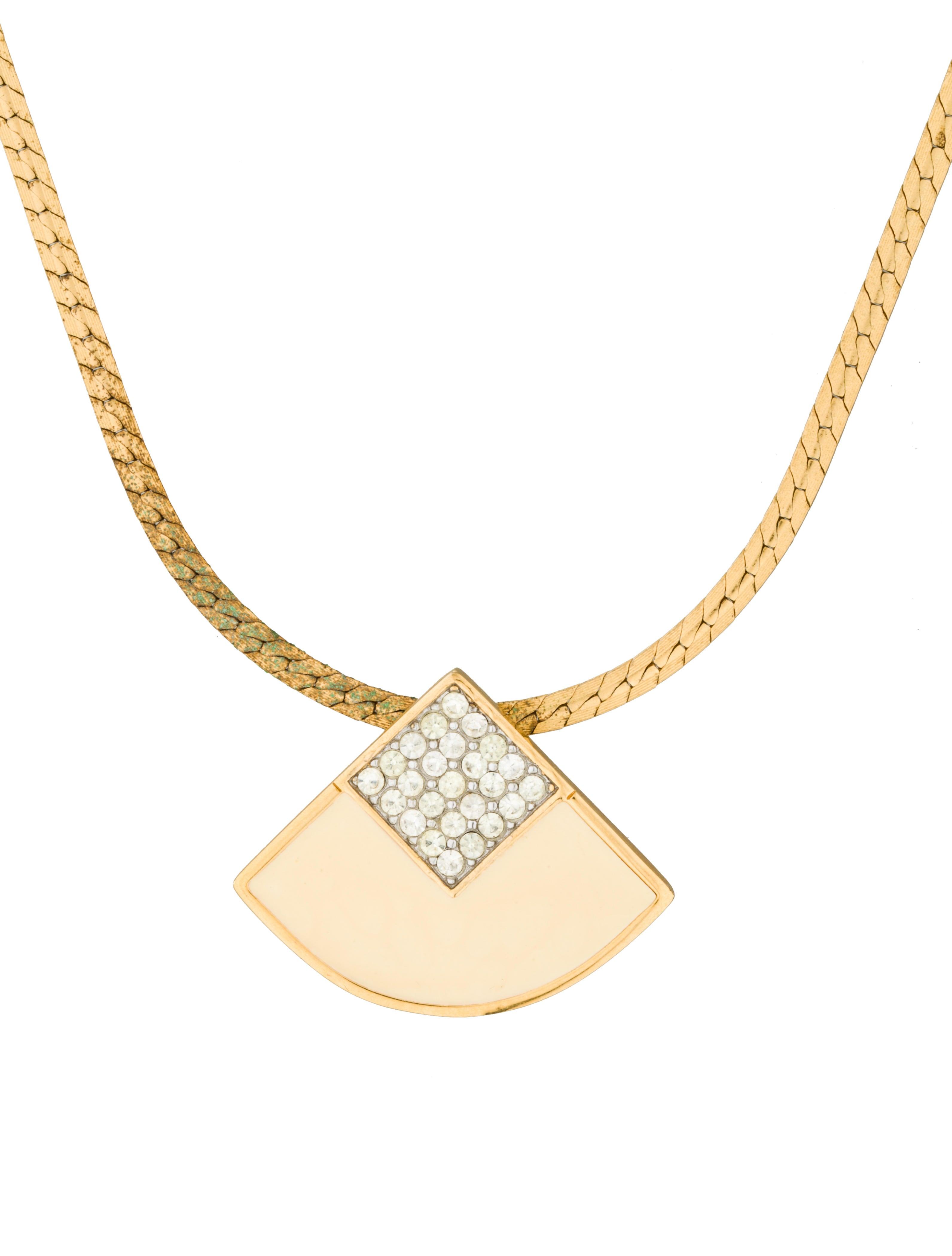 givenchy pav 233 pendant necklace necklaces