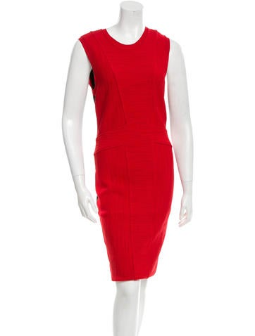 Givenchy Sleeveless Textured Dress None