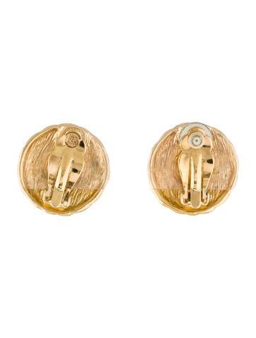 Round Rope Earrings