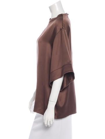 Oversize Silk Blouse