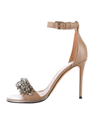 Embellished Bijoux Chair Sandals w/ Tags