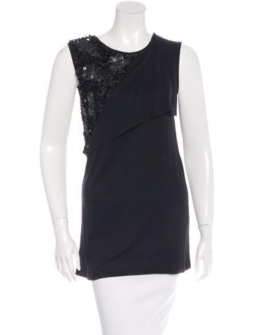 Givenchy Embellished Sleeveless Top None