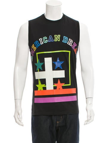 Givenchy Sleeveless Graphic T-Shirt None